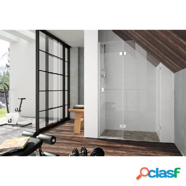Kassandra - Mampara frontal fijo + puerta abatible XE203