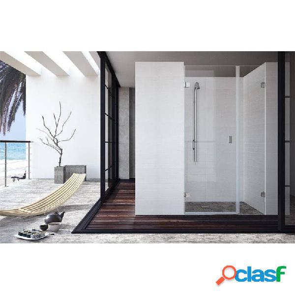 Kassandra - Mampara frontal puerta abatible + fijo XE202