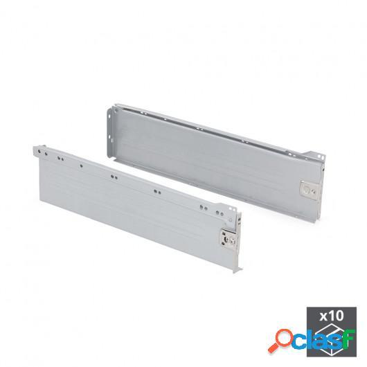 Kit cajón de cocina Ultrabox, altura 150 mm, prof. 450 mm,