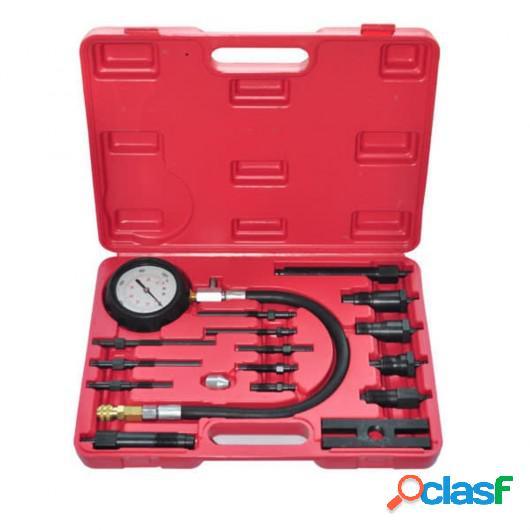 Kit comprobador de compresión de motor de diesel 17 piezas
