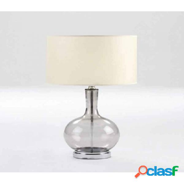 Lámpara De Sobremesa Cristal Clasico 25x45
