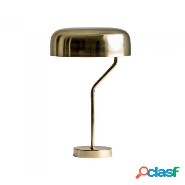 Lámpara De Sobremesa Oro Hierro 35 X 62