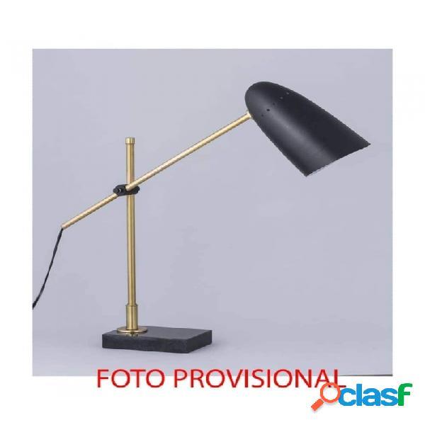 Lámpara De Sobremesa Plata Hierro 67 X 13 60