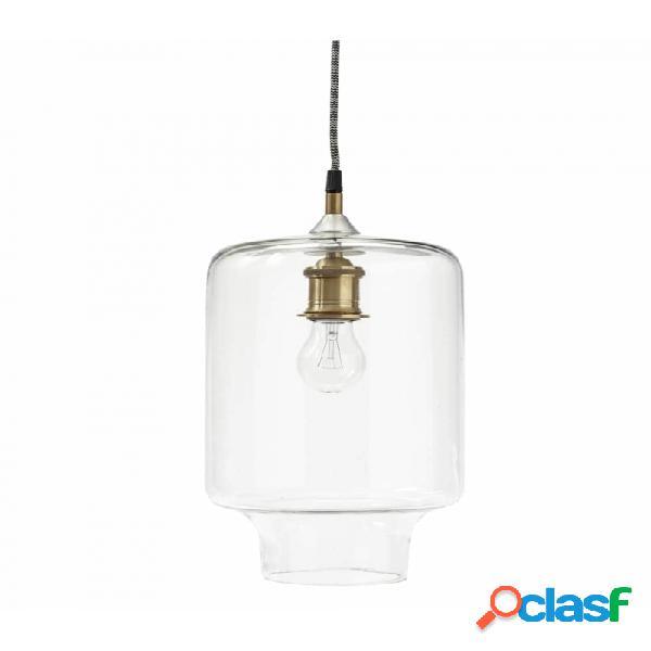 Lámpara De Techo Blanco Metal Nordico D30xh40, E27/40w