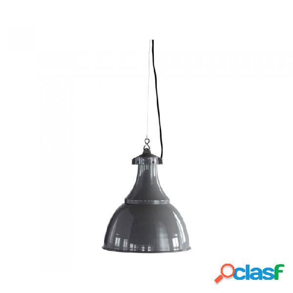 Lámpara De Techo Gris Metal Industrial