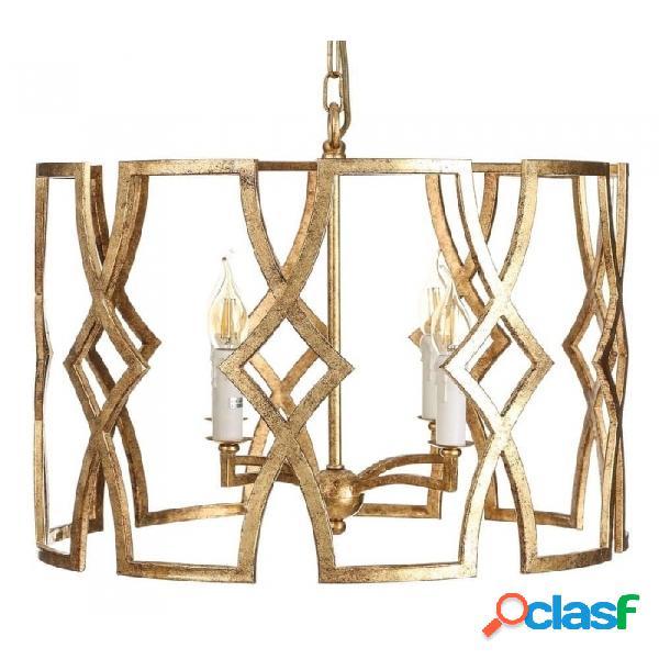 Lámpara De Techo Oro Hierro Clasico 51.00 X 43.00