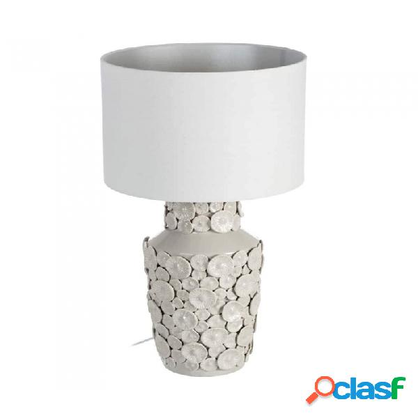 Lámpara Mesa Blanco Ceramica 35.00 X 67.00