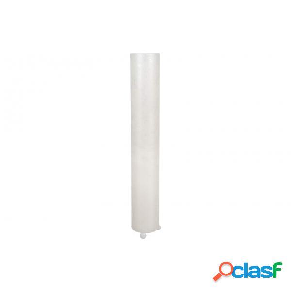 Lámpara Suelo Blanco Nacar Moderno 20 X 150