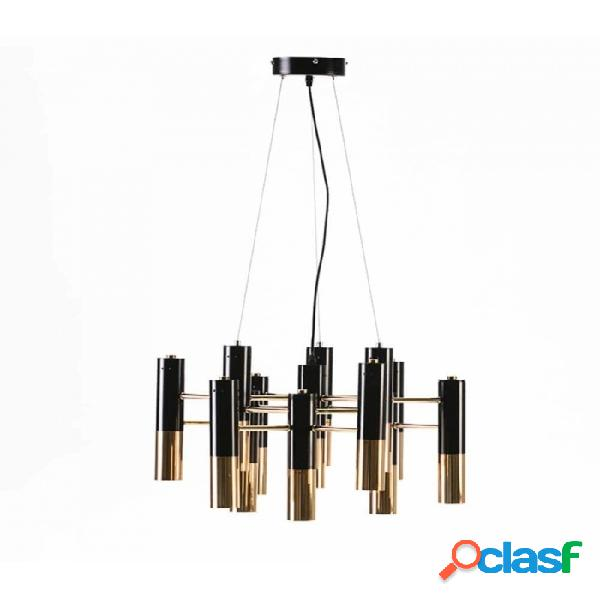 Lámpara Techo Dorado Metal Moderno 59x52x39