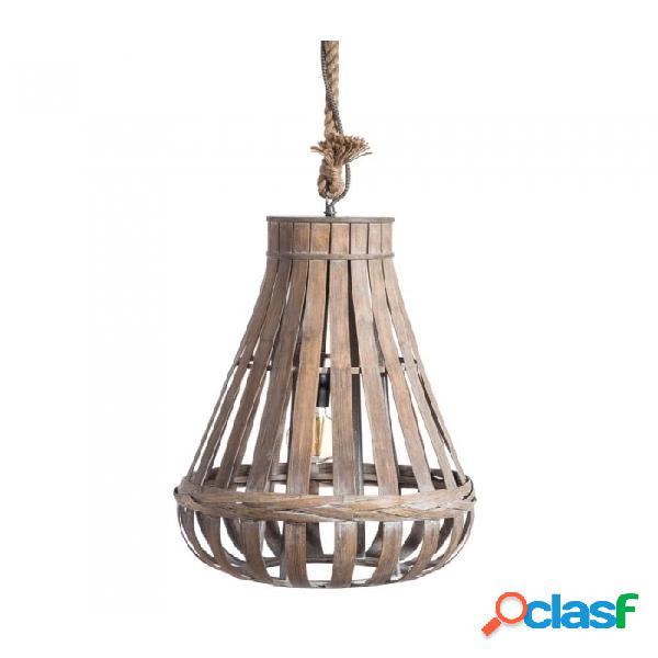Lámpara Techo Natural Bambu Clasico 45.00 X 45.00 X 58.00
