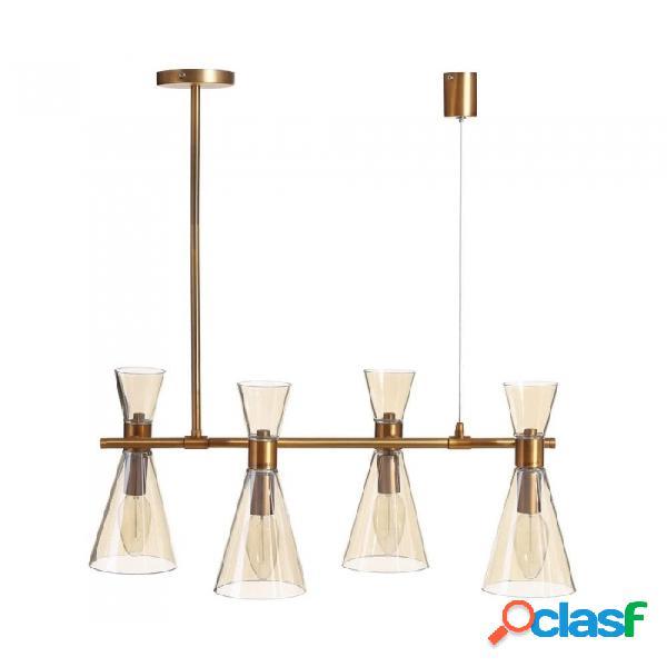 Lámpara Techo Novedades012019 Oro Cristal Metal Y Moderno