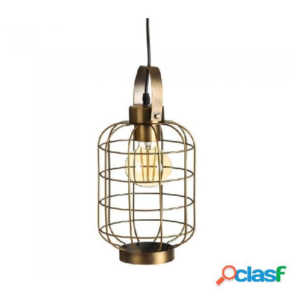 Lámpara Techo Oro Metal Industrial 17.00 X 37.00