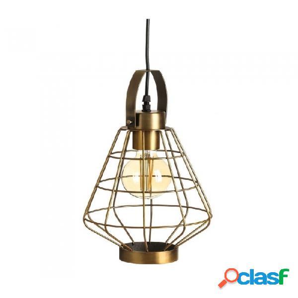Lámpara Techo Oro Metal Industrial 21.00 X 35.00