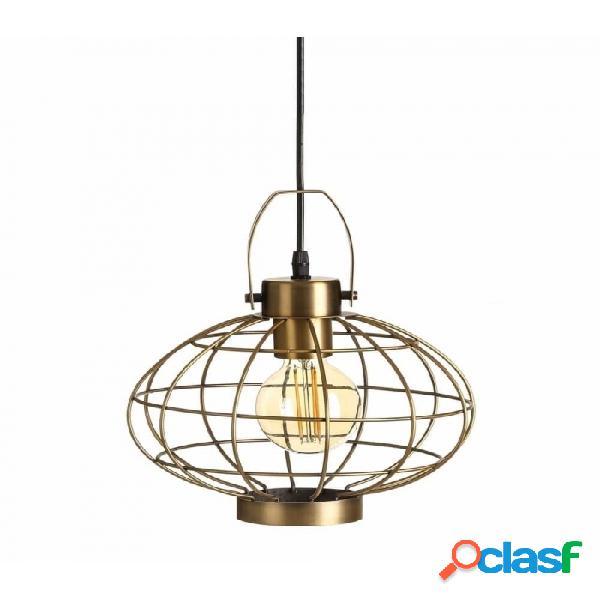 Lámpara Techo Oro Metal Industrial 26.00 X 27.50