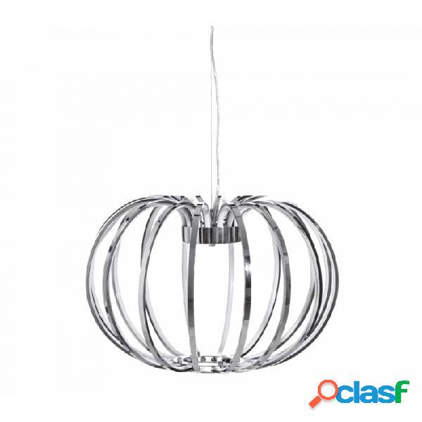 Lámpara Techo Plata Y Metal Moderno 50.00 X 120.00