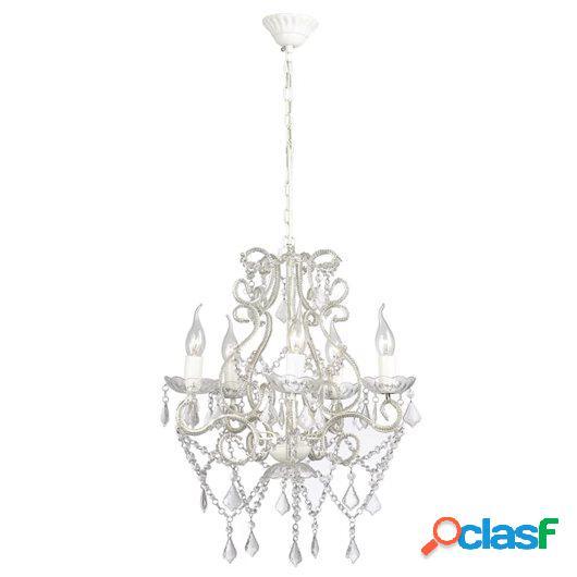 Lámpara de araña con 2800 cristales E14