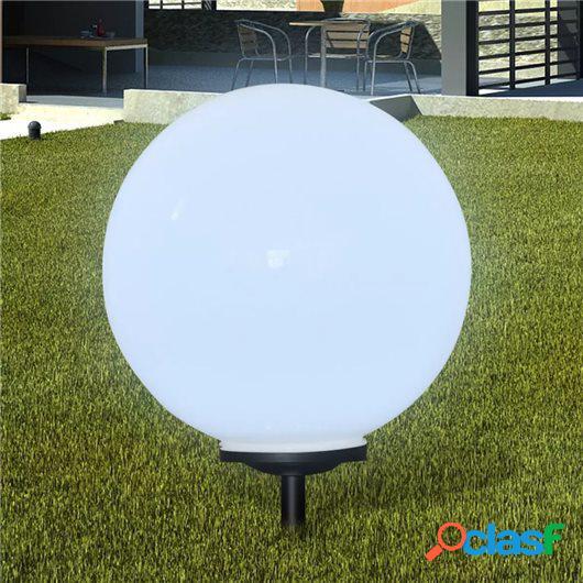 Lámpara solar de jardín en forma de bola con LED, 50 cm