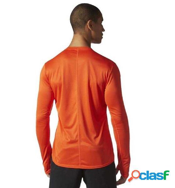 Long Shirt Running Adidas Rs Ls Tee M Naranja Xl