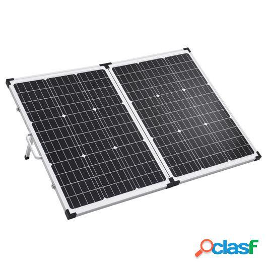 Maletín con panel solar plegable 120 W 12 V