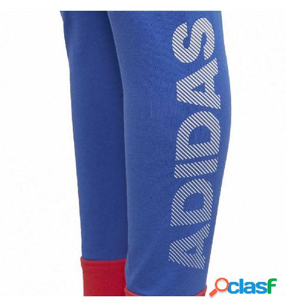 Mallas Largas De Fitness Adidas Yg Id Lin Tight 152 Azul