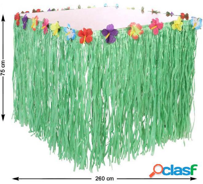 Mantel Hawaiano con Flores de 260x75 cm