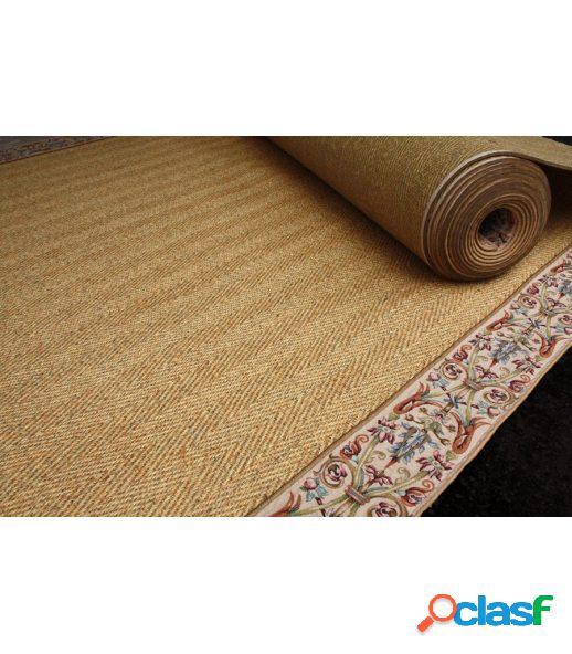 Menorca. alfombra de sisal a medida.