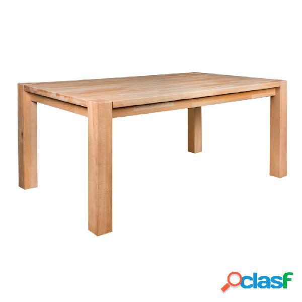 Mesa Billy de madera de haya 160cm