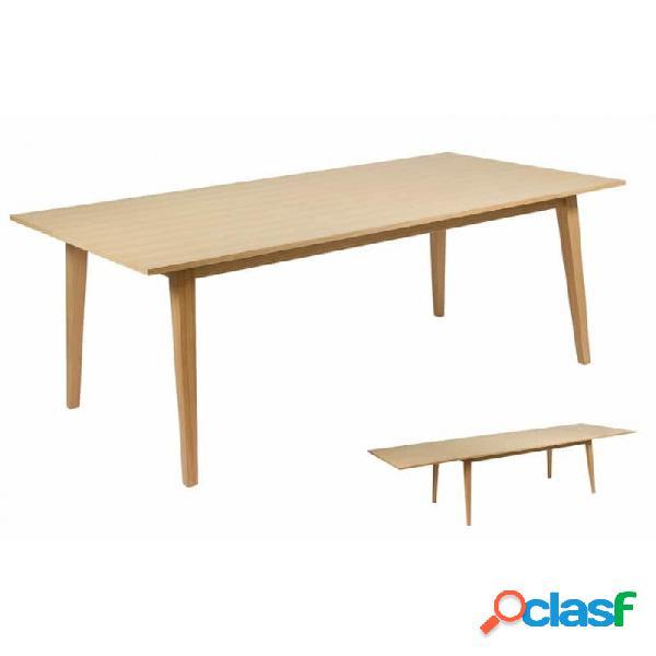 Mesa Natural Wood Moderno 180 X 90 75