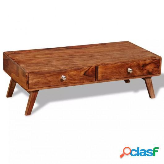 Mesa consola con 4 cajones madera maciza sheesham 35 cm