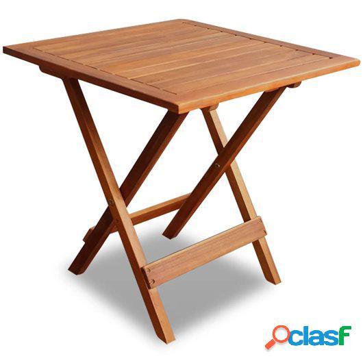 Mesa de centro de jardín de madera de acacia