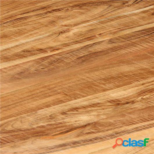Mesa de centro de madera maciza de acacia 75x75x35 cm