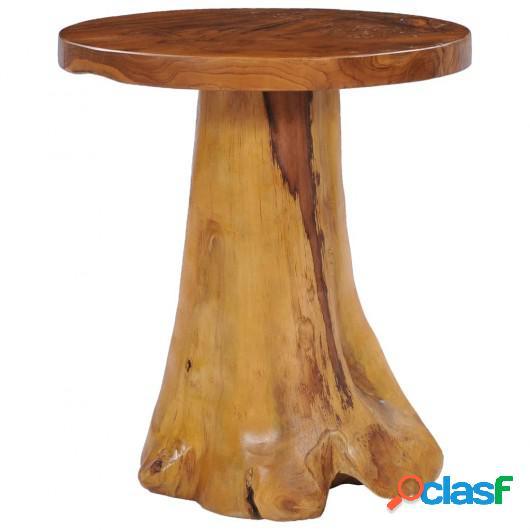 Mesa de centro de madera maciza de teca 40x40 cm