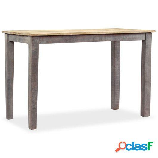 Mesa de comedor vintage de madera maciza 118x60x76 cm