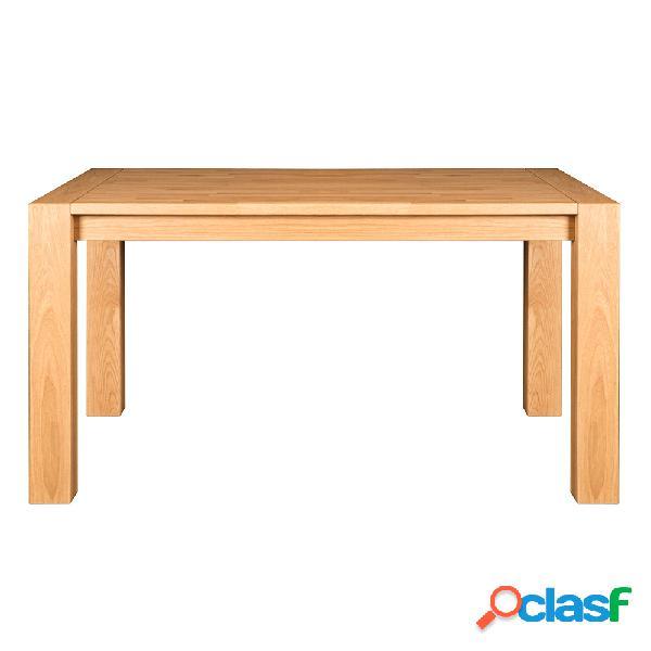 Mesa de madera de roble 140cm