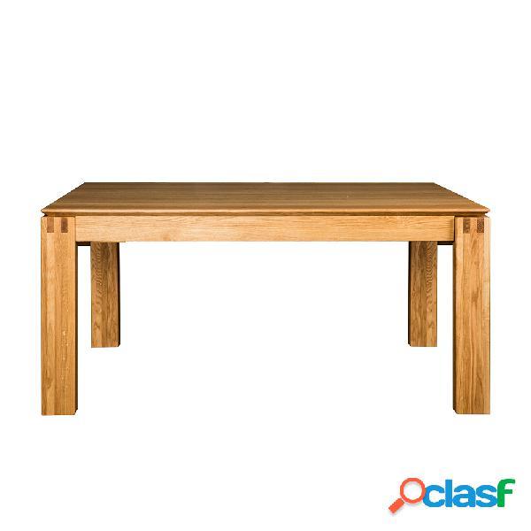 Mesa extensible de madera 160-240cm