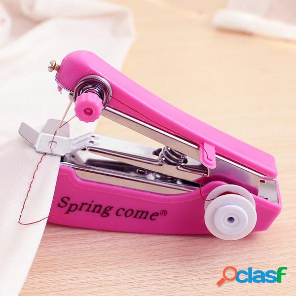 Mini máquina de coser manual portátil de la máquina de