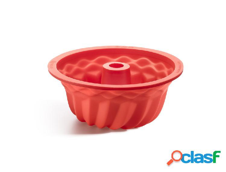 Molde Savarín Espiral Rojo Lékué