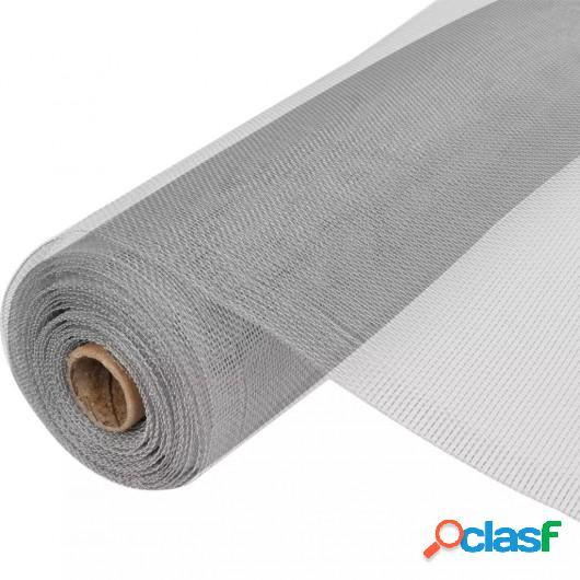Mosquitera de Aluminio plateada 100 x 1000 cm