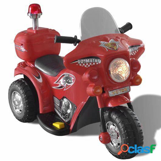 Moto correpasillos a batería para niños, Rojo