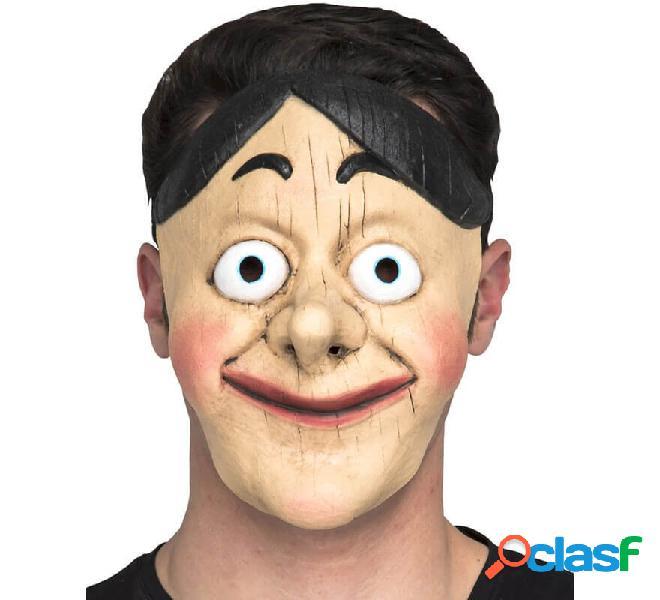 Máscara de Muñeco de madera