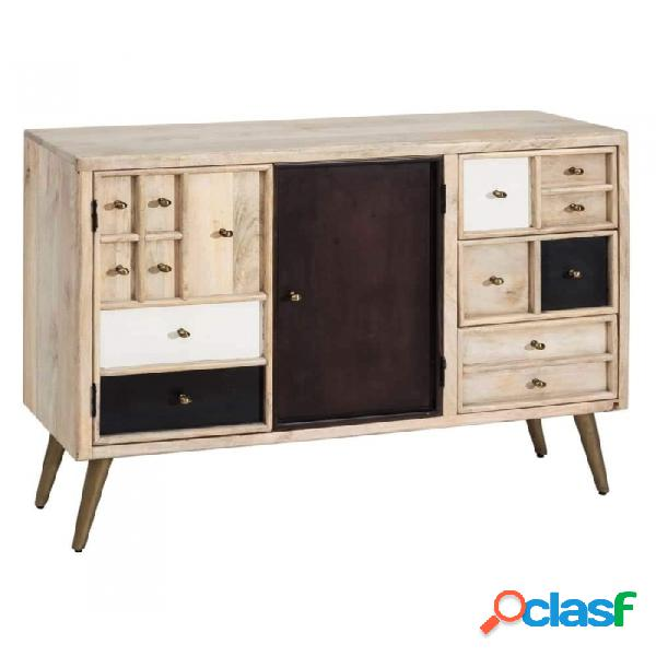 Mueble Auxiliar Natural Madera 85.00 X 35.00 79.00