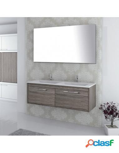Mueble De Baño De Diseño Dos Cajones Y Suspendido Con