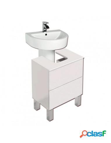 Mueble De Baño Moderno Para Lavabo Con Pedestal