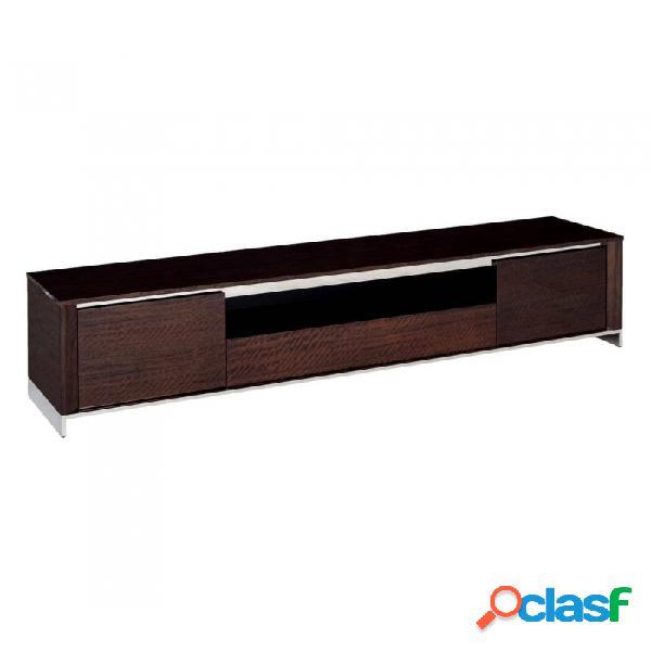 Mueble De Tv Marr N Marron Moderno 220 X 45 48