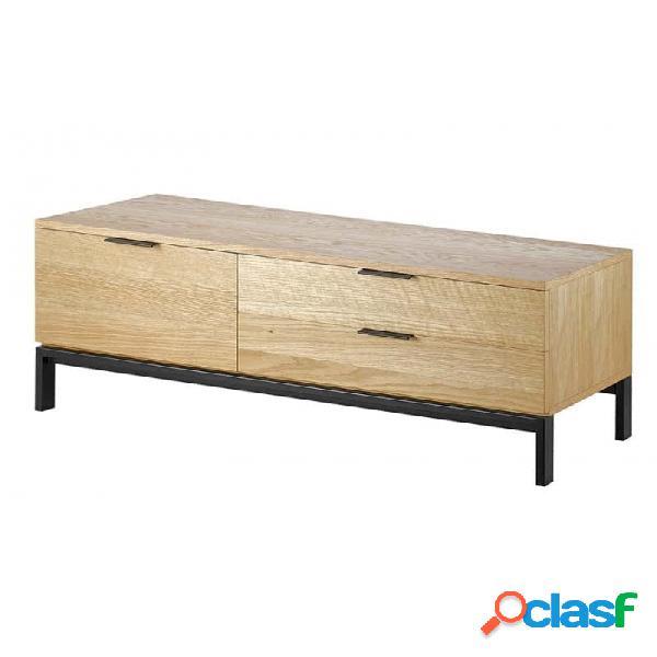 Mueble De Tv Natural Melamina 120 X 40 45
