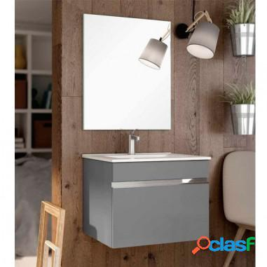 Mueble baño lacado lineal - otium