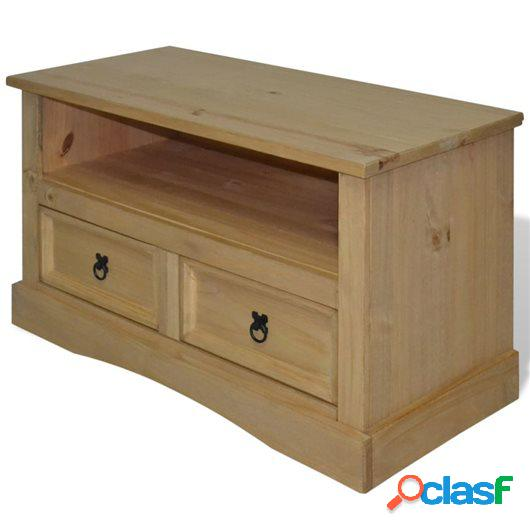 Mueble para TV Corona Range pino mexicano 91x43x56 cm