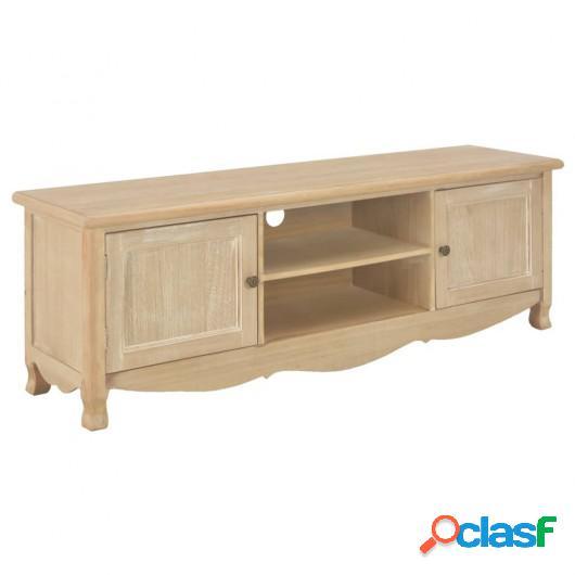 Mueble para el televisor de madera 120x30x40 cm