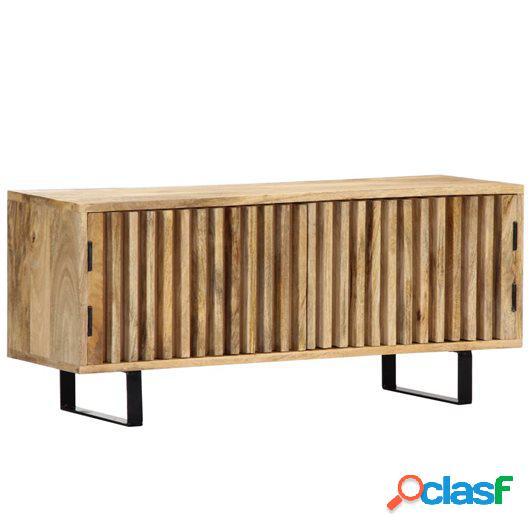Mueble para la TV 90x30x40 cm madera maciza de mango