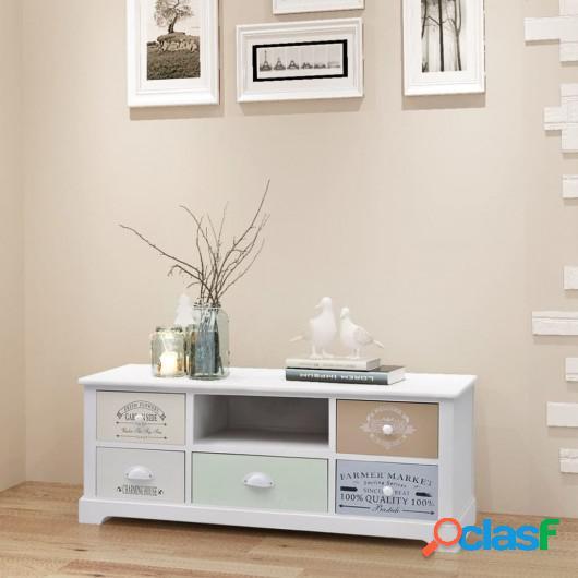 Mueble para la TV de estilo francés de madera